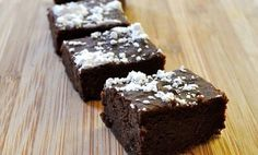Really Awesome Black Bean Brownies