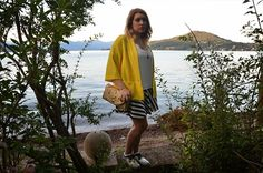 http://www.fashiondupes.com/2014/08/stripes-and-bananas.html #summer #yellow #style #look#outfit #ootd #ootn #cult #zara #stradivarius #black #white #bananas