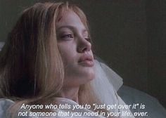 do no trust everyone 👌 on We Heart It - Angelina Jolie, girl interrupted, and movie image Best Picture For diy For Your Taste You are loo - Angelina Jolie Quotes, Angelina Jolie Movies, Brad Pitt And Angelina Jolie, Girl Interrupted Quotes, Angelina Jolie Girl Interrupted, Aesthetic Girl, Quote Aesthetic, Kate Middleton, 90s Girl