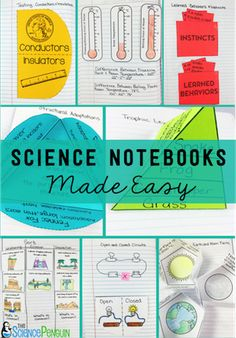 All in One Science Notebook. The Science Penguin makes it easy for you and fun for the students.