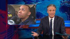 Jon Stewart comments on Shabaz Napier's claims of going hungry. April 10, 2014 - Jennifer Garner