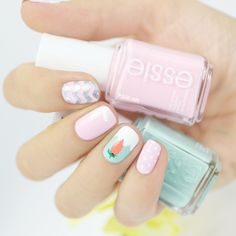 Cute easter nails♡