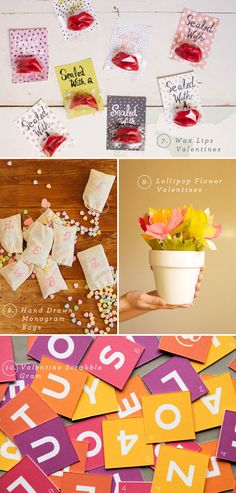 valentine diy | from oh happy day