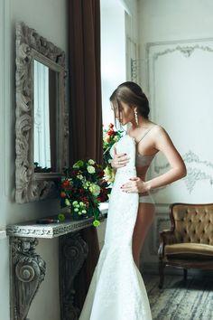 долгожданное утро невесты Wedding dress Kler Devi Collection Miss Kler
