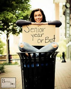 Senior year or bust! with holey jeans!