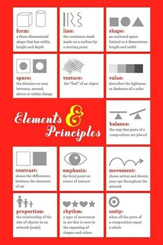 Elements Of Art Worksheets   Elements and Principles of Art & Design Worksheets / creative ...