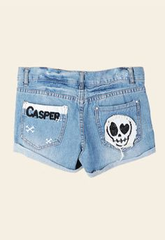 -Usually Ships in 1-2 business days Ships From:(Hong Kong)Warehouse -Worldwide Free Shipping  Shipping & Delivery -Worldwide Free Shipping>>(Hong Kong) Air Mail>>Delivery Time 7-15(business days)  The denim shorts pants with hole and skull print,which is classic,fashionable and all-match,i...