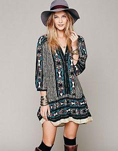 free people boho summer dress 2014
