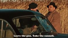The Godfather movie quote.