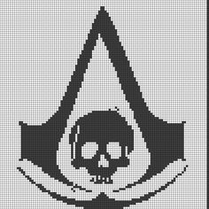 Assassin's Creed Perler Bead Pattern