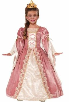 da5a74663 On sale Forum Novelties Designer Collection Deluxe Victorian Rose Costume  Dress, Child Medium for Halloween Gifts Idea Online Shopping for Gifts Idea  ...