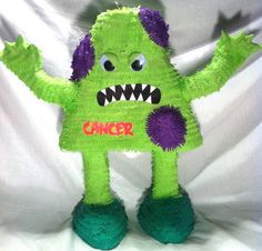 Cancer Pinata by Outofthisworldpinata on Etsy, $40.00