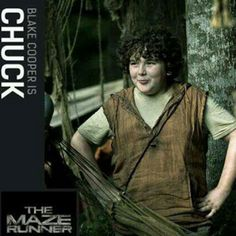 The Maze Runner awwww chuck!!!! soooooo adorable! exactly who i pictured!
