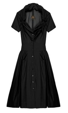 Vivienne Westwood Anglomania The Black Sweetheart Short Sleeve Dress 40 Vivienne Westwood Anglomania, Capsule Wardrobe, Style Me, Short Sleeve Dresses, Shirt Dress, Fashion Outfits, Key, Clothes, Haute Couture
