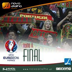 Hoje estamos juntos rumo à final   FORÇA PORTUGAL!!!  #novoatalho #portugal #euro2016 #rumoafinal