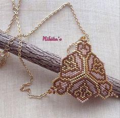 Handgemachte Halskette Miyuki Halskette Halskette Peyote