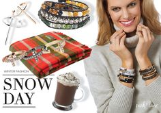 Brrr its cold outside! Pair a oversized sweater with E! Park Lane Jewelry rings and bracelets! #parklanejewelry