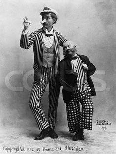 Vaudeville duo