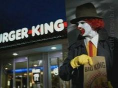 Burger King Vs. McDonald's Health | 2002 German commercial for Burger King. Betraying your father ! Not ...