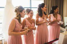 Vera Wang Glamour for a Wonderfully Luxurious Pink and Gold Wedding at Fetcham Park Bridesmaids And Groomsmen, Bridesmaid Dresses, Wedding Dresses, Pink And Gold Wedding, Wedding Blog, Wedding Ideas, Davids Bridal, Dresses Uk, Bridal Make Up