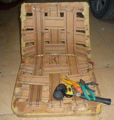 Ręko-czyny: Renowacja fotela chierowskiego model 366 etap I