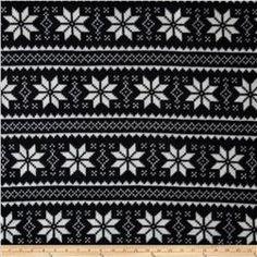 Winterfleece Nordic Star Black