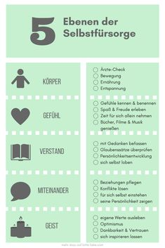 Selbstfürsorge – Was bedeutet das? Die 5 Ebenen der Selbstfürsorge Self-care – what's that? I explain show you that this is not always about time for yourself # Own welfare Stress Management, Yoga Style, Psychology Facts, Health Psychology, Psychology Degree, Self Improvement Tips, Life Advice, Mom Blogs, Self Development