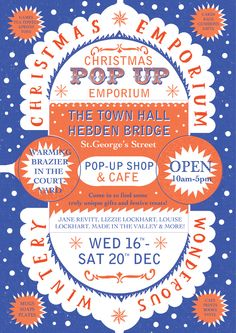 Christmas Pop Up Poster - Louise Lockhart