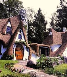 story book houses