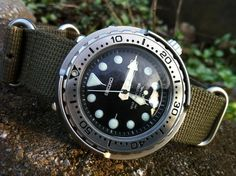 """Seiko SBBN017 """"Tuna Can"""" This is my absolute """"do everything"""" watch"""