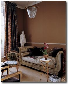 Decorating With Dark Brown French Styling Interior Antique Home Decor Bedroom