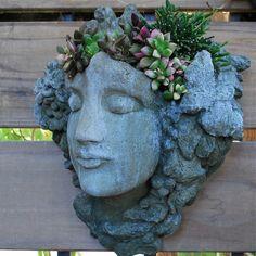 Love! head planters.