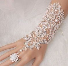 nice ON SALE Bridal gloves, Wedding glove, lace bridal gloves, bridal cuff, Lace Wedd.by duratan-wedding. Lace Bridal, Bridal Cuff, Bridal Henna, Lace Wedding, Lace Jewelry, Bridal Jewelry, Jewelery, Hand Accessories, Bridal Accessories