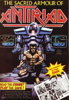The Sacred Armour of Antiriad (Palace Software, 1986)