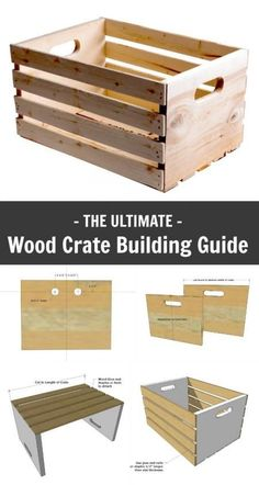Have you had a chance to check out my Ultimate Wood Crate Building Guide? Building crates is easy, fun, and maybe even free if you have scrap wood lying around your shop. But what to do with all thes