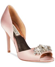 Badgley Mischka Giana Evening Pumps - Shoes - Macy's