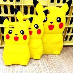 Ốp hình thú nổi 3d Pokemon cho iphone