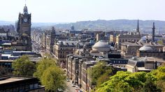Edinburgh, Scotland | Embrace the magic this holiday season in destinations both warm and cold. | Originally published by Travel + Leisure