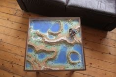 Minecraft Inspired Coffee Table - IKEA Hackers
