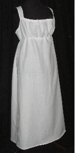 Regency style Bib Front Apron - make this for Rachel so her apron stays up!