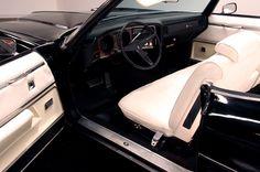 Interior, 1971 Pontiac Grand Ville Convertible in beautiful condition.