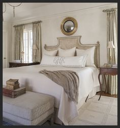 Soft And Clear White Master Bedroom Design Ideas Make The Room Elegant Looks - Dlingoo Master Bedroom Design, Dream Bedroom, Home Decor Bedroom, Interior Exterior, Interior Design, Guest Bedrooms, Beautiful Bedrooms, Decoration, Long Pillow