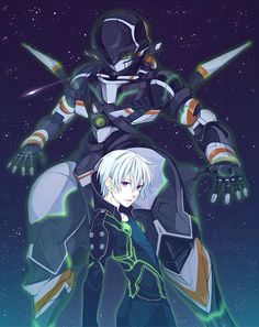 Gargantia on the Verdurous Planet / Suisei no Gargantia (翠星のガルガンティア) - Ledo