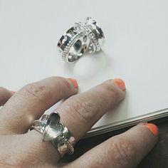 Spinner rings available at www.cloversoul.co.uk Spinner Rings, Rings For Men, Engagement Rings, Silver, Jewelry, Rings For Engagement, Jewellery Making, Men Rings, Wedding Rings