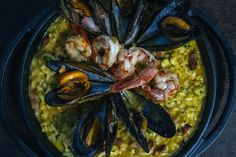 Seafood risotto at Piperiá, photo by Manteau Stam