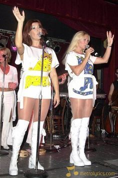 Look at Anni-Frid Lyngstad and Agnetha Faltskog from Abba because you never can tell me that I'm wrong with my statement that this two are two of the horniest experiences from the 70s The Grey Witch who's also a Transcendence free Spiritual Cosmic Loner Grey Gothic King From The Grey Angels and goes by the name Evangelio