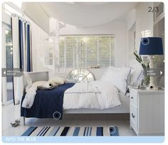 i wonder if he'll let me have a nautical room?