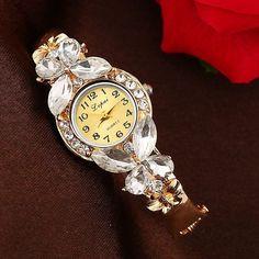 Luxury Butterfly Crystal Watch