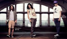 Miles McMillan is a Skater for H&M Divided Spring 2013