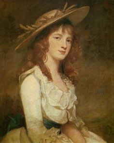 George Romney, Miss Constable, 1787.